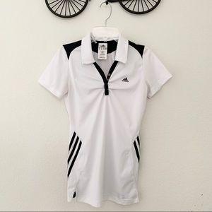 Adidas black & white shirt